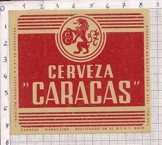 VeNeZueLa - CeRVeCeRa NaCioNaL - CaRaCaS - MaRaCaiBo - BeeR LaBeL x 2