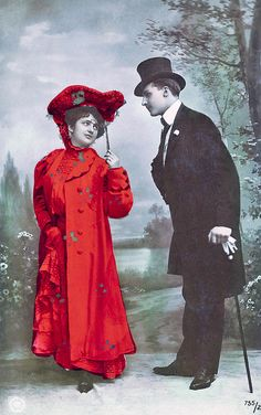 French Vintage Postcard