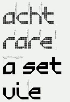 Total Design / Randstad / Typeface / 1970