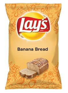 Wouldn't Banana Bread be yummy as a chip? Lay's Do Us A Flavor is back, and the search is on for the yummiest chip idea. Create one using your favorite flavors from around the country and you could win $1 million! https://www.dousaflavor.com See Rules.