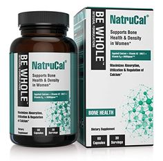 NatruCal Supports Bone Health  Density in Women  Synergistic Formulation Combining Egg Shell Calcium Vitamin D3 Vitamin K2 MK7  HMR Lignans  Maximizes Absorption  Utilization of Calcium * Learn more by visiting the image link. (It is an affiliate link and I receive commission through sales)