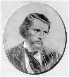 Zichy Mihály önarcképe, 1856.