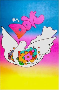 Dove by Peter Max, 1968