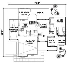 First Floor of Plan ID: 25229