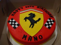ferrari cake - Google Search Ferrari Cake, Cupcake Birthday Cake, Christmas Cupcakes, Make It Yourself, Google Search, Cooking, Desserts, How To Make, Food