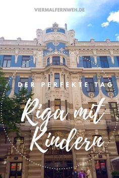 Die Hauptstadt Lettlands ist eine Perle und lohnt sich für ein Wochenende. Mehr im Blog... #Riga #Lettland #ReisenmitKind #Städtereise #Familie #Familienreise
