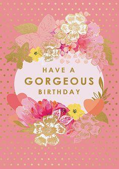 Happy Birthday Greetings Friends, Happy Birthday Text, Happy Birthday Wallpaper, Happy Birthday Pictures, Birthday Love, Happy Birthday Gorgeous, Birthday Quotes, Birthday Cakes, Birthday Wishes Flowers