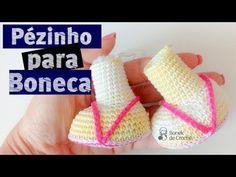 Boneca de Crochê Corpinho Passo a Passo - YouTube
