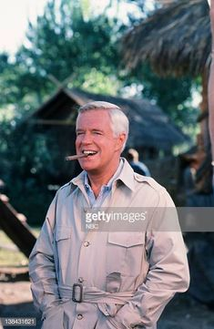TEAM 'The Bend in the River Part 1 Episode 2 3 Pictured George Peppard as John 'Hannibal' Smith George Peppard, Audrey Hepburn, Hunks Men, Male Hunks, Michigan, Paddy Kelly, I Love Him, My Love, The A Team