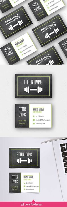 Need to brand your new business? Of course you want to stand out in the crowd! I'm here to help you with my unique pre-made business cards. Sports Brands, Social Media Template, Live Long, Brand You, Business Cards, Crowd, Print Design, Trainers, Branding Design
