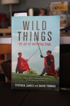 Wild Things: the art of nurturing boys.  An awesome book written from a human development angle, giving practical advice of how to best nurture our sons.  I am learning so much about all the reasons behind my boys' behavior.