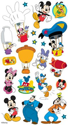 Disney > Mickey Mouse Clubhouse Classic Sticko Disney Stickers: A Cherry On Top Diy Mickey Mouse Ears, Mickey Mouse Banner, Mickey Mouse Crafts, Mickey Mouse Drawings, Mickey Mouse Wallpaper, Mickey Party, Mickey Mouse And Friends, Disney Mickey Mouse Clubhouse, Disney Mouse