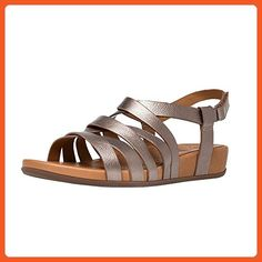d770614701c FitFlop Women s Lumy Leather Gladiator Sandals (Bronze