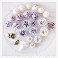 "780 Likes, 2 Comments - Butter cream flower cake&class (@kimncake) on Instagram: ""purple#bakingclass#buttercream#cake#baking#wiltoncakes#weddingcake#버터크림케이크#wilton#flowers#buttercake#플라워케이크#wedding#버터크림플라워케이크#specialcake#birthdaycake#flower#플라워케익#rose#디저트#케이크#cupcake#dessert#food#beautiful#부케#bouquet#instacake#꽃스타그램#flowercake#peony…"""