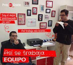 ♥ Así de duro se TRABAJA ... ♥ --------------------------------------- http://www.proyectizate.com http://www.araceligisbert.com