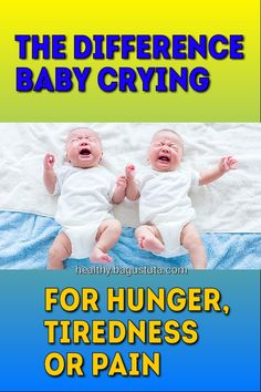 In babies crying is the way they communicate. But, how to distinguish baby crying because he is hungry, feeling sick, or tired? Baby Health, Health Care, Diabetes Treatment, Feeling Sick, Baby Time, Weight Loss Goals, Mom And Baby, Ways To Lose Weight, Health Benefits