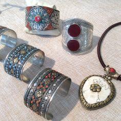 Unique Pendant & Cuffs. www.meredithjackson.com