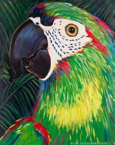 Parrot Giclee by Carol Korpi-McKinley