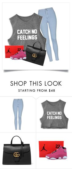 """""""idek"""" by jtbae on Polyvore featuring Topshop, Gucci, women's clothing, women, female, woman, misses and juniors"""