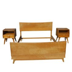 Heywood Wakefield Bed Frame Kohinoor