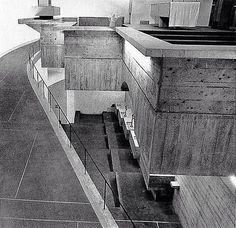 Andy MacMillan & Isi Metzstein of Gillespie, Kidd & Coia Arch.: St. Peter's College/seminary, Cardross, Scotland, UK, 1966 (1967)