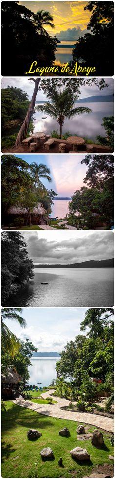 Laguna de Apoyo.  A sunrise kayak on this warm glassy lake can't be beat!