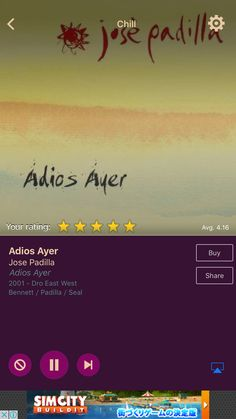 Adios Ayer by Jose Padilla on AccuRadio