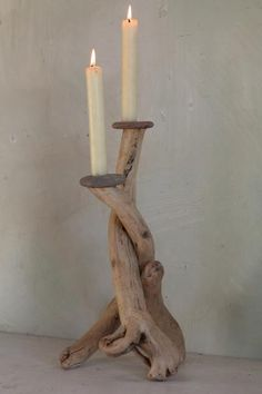 36 cm to highest pebble Holder With safe candle spikes.  Price £50.00  UK Delivery £10.50