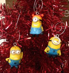 Hey, I found this really awesome Etsy listing at https://www.etsy.com/listing/214173288/despicable-me-mini-minions-ornament-set