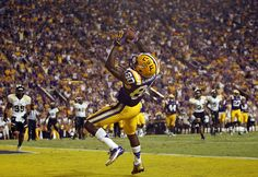 LSU's Jarvis Landry makes touchdown catch in win over Idaho.