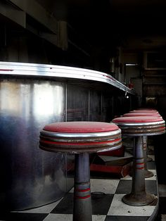 Route 66 - Deserted Diner by Cori Gray, via Flickr