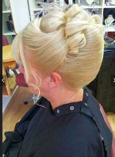 French Twist Updo, French Twists, Victory Rolls, Catherine Deneuve, Pin Up, French Pleat, Retro Updo, Beehive Hair, Blonde Curly Hair