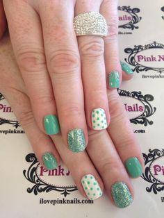 Mint Soft Gel Nails