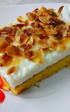 Greek Sweets, Greek Desserts, Greek Recipes, Cookbook Recipes, Cooking Recipes, Clementine Cake, Greek Cake, Low Calorie Cake, My Favorite Food