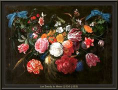 Jan Davidsz de Heem - Bloemen en insecten (1660)