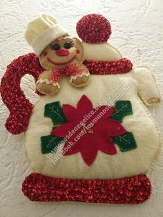 Elf On The Shelf, Gingerbread, Christmas Ornaments, Holiday Decor, Winter, Christmas Crafts, Scrappy Quilts, Home, Vestidos