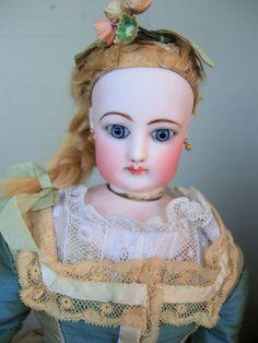 "18 1/2"" Most Beautiful Gesland French Fashion Doll w/Corset & Original Coiffe"