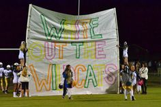 Whiteout the Wildcats