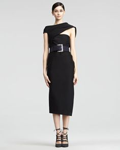 Asymmetric Body Dress by Donna Karan at Neiman Marcus. $1,939