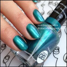 Sally hansen gel combustealable