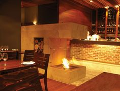 EcoSmart Fire: Grooved Grate Modern Ventless Designer Fireplace Grate | Stardust Modern Design