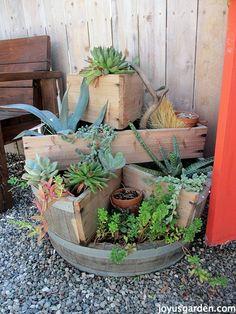 Great wine barrel planter!