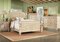 Shop for a Key Royale Cream 5 Pc Queen Bedroom at Rooms To Go. Find Bedroom Sets that will look great in your home and complement the rest of your furniture.