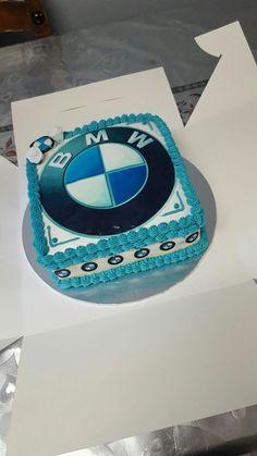 cake by SugarRushCakes. Birthday Cakes For Men, Baby Boy Birthday, Happy Birthday, Car Cakes, Cupcake Cakes, Bmw Cake, Bmw Girl, Girly Images, Cake Designs