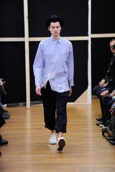 Comme des Garçons Shirt Fall 2014 Menswear Collection Slideshow on Style.com