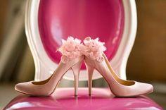Adorable Pastel Pink Heels