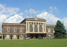 The Lancaster, PA train station, which is currently undergoing a facelift. Visit our city via Amtrak!