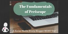 Periscope: A Social Media Every Blogger Should Try @midmichiganmom : Featured Post on Turn it up Tuesdays