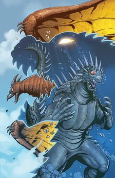 Godzilla Rulers of Earth #6 - Matt Frank, Colors: Priscilla Tramontano