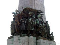 Belgian Infantry Memorial by Edouard Vereycken, Place Poelaert, Poelaertplein, Bruxelles